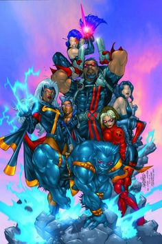 X-Treme X-Men//Carlos Pacheco/P/ Comic Art Community GALLERY OF COMIC ART