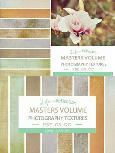 Masters Texture Collection III. Photoshop Textures