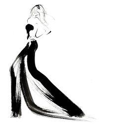 Fashion Drawings, Fashion Sketches, Fashion Art, Fashion Design, White Fashion, Dress Fashion, Beauty Illustration, Fashion Illustration Sketches, Mode Collage