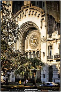 The Great Synagogue, Plaza Lavalle y Tribunales, Buenos Aires Art Nouveau Arquitectura, Argentina South America, Jewish Synagogue, Andes Mountains, Les Religions, Argentina Travel, Vatican City, Place Of Worship, Mosque