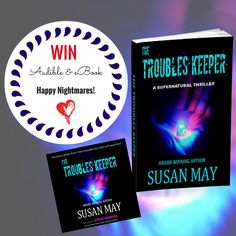 "Win the latest best-selling Audible and eBook by the author readers have named the next STEPHEN KING.   ""Susan May proves once again why she is the foremost genre writer of the suspense/thriller/supernatural novel."""