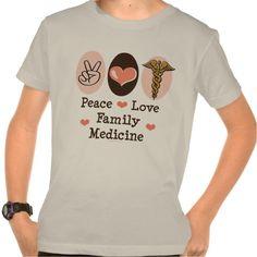 Peace Love Family Medicine Organic Kids Tee T Shirt, Hoodie Sweatshirt