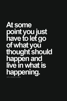 Let it go, let it go...