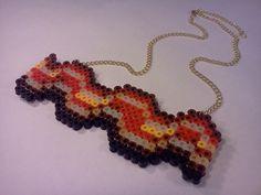 Bacon Perler Hama Melty Fuse Beads