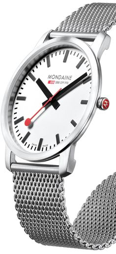 Mondaine Simply Elegant A672.30350.16SBM watch - Modern Watches from Watchismo.com