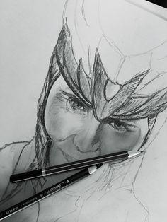 Loki in progress ✨