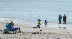 Running On The Beach - Edisto Beach, SC