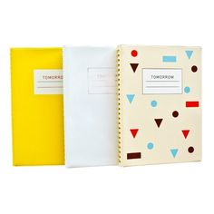 Tomorrow Planners - Although Sunday isn't the first day of the week on here... I could live with it $28.00