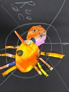 PreKandKSharing: Very Busy Spiders (a la Eric Carle)