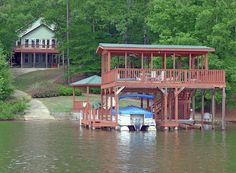 SOLD..633 Lakeview Heights Road, Jacksons Gap, AL 36853 - MLS# 15-497 IRRESISTIBLE and PRICED TO SELL big beautiful family lakehome compound w/THE KING of ALL DOUBLE DECKER partydocks,double covered boathouse w/2boatlifts,boatlaunch,lakeside gazebo.EXCELLENT condition,freshly painted in&out.5 bedrooms,3 full baths,2 HUGE dens,full kitchen,2nd kitchenette,fireplace,hardwood floors,open deck,screen porch,covered patio,and the list goes on and on!1-Year Home Warranty! Amy Clark Real Estate…