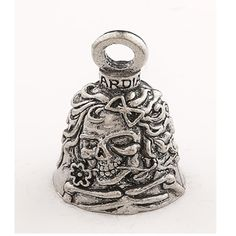 Fallen Brother Guardian Motorcycle Spirit Bell Accessory HD Gremlin Riding Key Ring