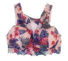 99ebaf0440 Victoria s Secret Pink Lace Bralette Bra at Amazon Women s Clothing store
