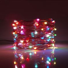 The Holiday Aisle 16 ft. Lantern String Lights, Led Fairy Lights, Jar Lights, Globe Lights, Light String, Glass Globe, Flower Arrangements, Bedroom Decor, Teen Bedroom