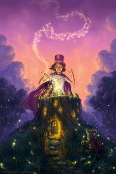 Firefly magic - Children's Illustrations by Laura Diehl  <3 <3