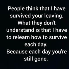 Missing Quotes : The spark in my life is different. I wake up for a different reason now. Knowing