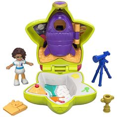 Discover the world of Polly Pocket Polly Pocket Tiny Pocket World Shani Rocket Playset Find the latest Polly Pocket figures, compacts and playsets today at the official Mattel Shop! Polly Pocket World, Poly Pocket, Mattel Shop, Mermaid Tails For Kids, Mermaid Wallpapers, Nebraska Furniture Mart, Cute Disney Wallpaper, Toy Organization, Shopkins