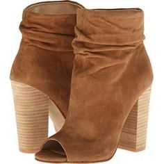 Kristin Cavallari Laurel Booties in Dark Camel