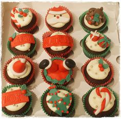 #chistmasmuffins #muffins #cupcakes #chistmas cupcakes