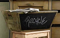 mail. recycling. miscellaneous. whatever you like.