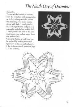 Gallery.ru / Фото #1 - 24 Snowflakes in Tatting - mula