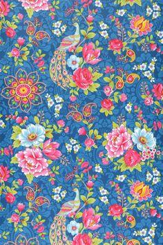 Ludmilla | Papel pintado floral | Patrones de papel pintado | Papeles de los 70