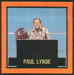 Hollywood Squares. Premiered in 1965. Paul Lynde in the center square beginning in 1968.