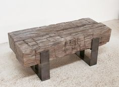Concrete Two Beam Table