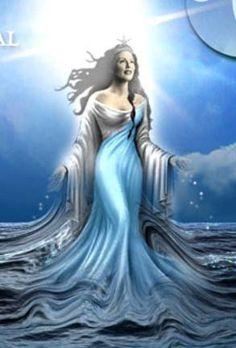 diosa del mar yemaya - Buscar con Google