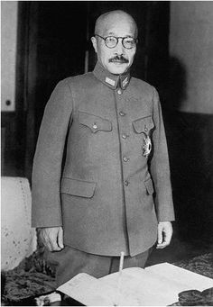 Тодзио Хидэки в качестве премьер-министра Японии, ноябрь 1941 г. -  27 ноября 1941 Премьер-министр Японии Тодзио отклонил американское встречное предложение о мире.