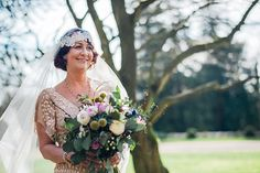 Hampton Manor Wedding Photography bride holding bouquet