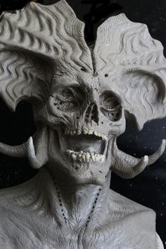Laughing Emperor Revised by PilcrowDesigns Arte Horror, Horror Art, Weird Creatures, Fantasy Creatures, Dark Fantasy Art, Dark Art, Samael Angel, Vampires, Dark Pictures