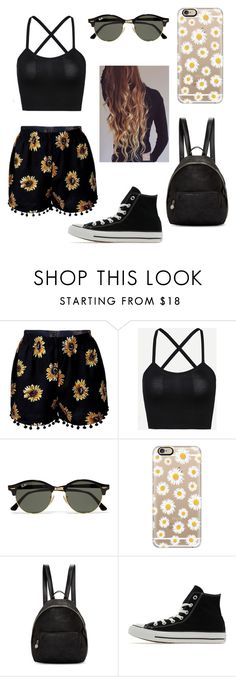 """""""Untitled #75"""" by gimevelazquez on Polyvore featuring Ray-Ban, Casetify, STELLA McCARTNEY and Converse"""