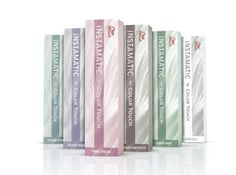 The new Wella Instamatics range - beautiful pastel tones!
