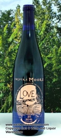 """Inspire Moore Love Riesling ($13.86)  """"We worked with two different vineyard sites on Keuka and Seneca lakes to produce a truly representative Riesling for the region. Upfront floral notes of honeysuckle, jasmine, with touches of apricot."""""""