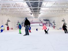 Learn to Ski + Snowboard at Scotland's only indoor ski slope