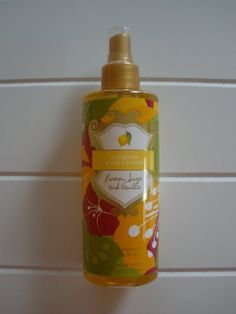 Victoria's Secret Garden Collection Lemon Paradise Body Mist by Victoria's Secret. $13.30. Size: 8.4oz or 250ml. Brand New Never Used or tested. Limited Edition. 100% Authentic. Lemon Sugar and Vanilla. Limited-edition sheer body mist refreshes with the rush of lemon sugar and vanilla, moisturizing aloe vera and calming chamomile for a touch of luscious softness. Island Passion, the exotic new limited-edition collection from Secret Garden, instantly transports y...
