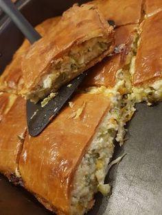 Mediterranean Breakfast, Pumkin Pie, Cheese Pies, Spanakopita, Greek Recipes, Food Network Recipes, Sandwiches, Bread, Cooking
