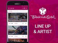 Tomorrowland Line up & Artist by Moisés Dias
