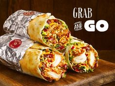 KFC UK Toasted Burritos   The burritos come filled with spicy rice, beans, salsa, lettuce, and chipotle mayo and can come filled with either Original Recipe, Zinger, or Pulled Chicken.