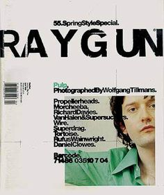 MagSpreads - Editorial Design and Magazine Layout Inspiration: Ray Gun - Covers and Spreads