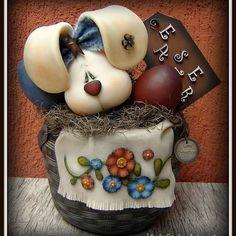 "25 Me gusta, 2 comentarios - @lindasantos.artcountry en Instagram: ""#biscuitcountry #Easter  Linda Santos Artcountry"""