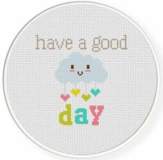 Charts Club Members Only: Have a Good Day Cross Stitch Pattern