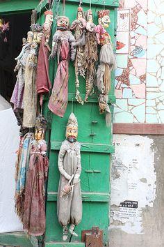 Pushkar, India, dolls