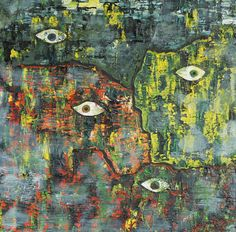 "Marian Lupu LUPINO -Email: mlupubm@yahoo.com -""Cardinale""-oil on canvas-40x40 cm- 1200$"