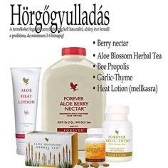 Aloe Blossom Herbal Tea, Aloe Heat Lotion, Bee Propolis, Forever Aloe, Aloe Vera, Herbalism, Berries, Deporte, Herbal Medicine