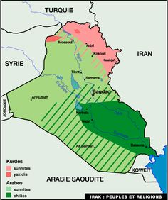 la carte d'irak | peuple.gif
