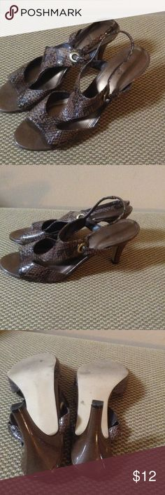 Cute Impo dressy heels Size 9.5 only wore these handful of times. Lots of life left. Impo Shoes Sandals
