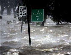Hurricane Katrina Pictures: Road signs to nowhere