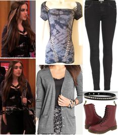 """Jade West's outfit in, """"The Bird Scene."""" • Top • Jeans • Cardigan • Necklace • Boots"""