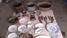 Клад посуды.(the treasure of dishes) http://klads.org/10-razlichnyx-kladov-posudy-mnogo-fotografij-video/